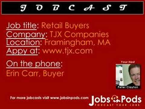 Whats It Like To Be A Buyer At TJX?