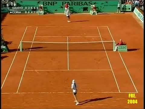 Gaston Gaudio Grand Slam Highlights - YouTube