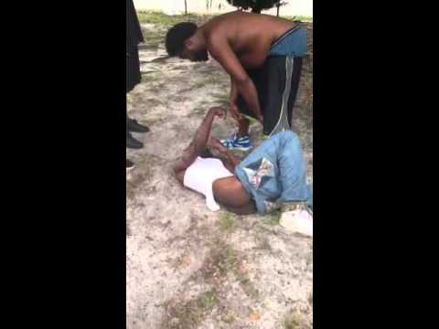 Lil city fight jug got beat