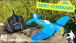 DIY Hangar RC F4U Corsair   Chuck Glider Conversion  