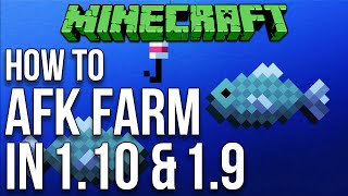 Minecraft 1.10: How To AFK Farm In Minecraft 1.9 & 1.10 Tutorial