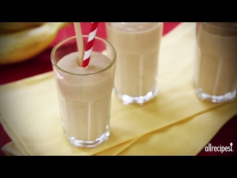 how-to-make-a-peanut-butter-banana-smoothie-|-smoothie-recipes-|-allrecipes.com