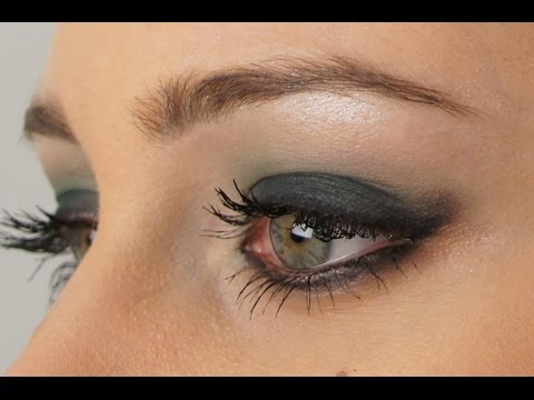 Make up tutorial Trucco Elegante da Sera per occhi verdi e grandi  (italiano) , YouTube