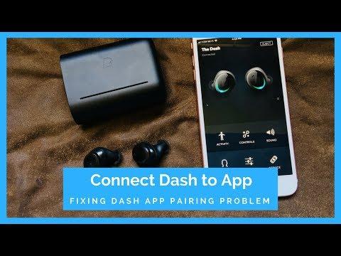 Fix Bragi Dash App Connection