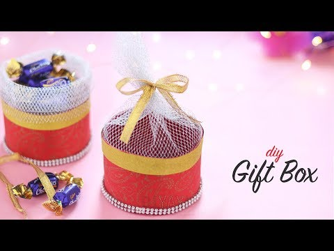 DIY Gift Box | Crafts For Diwali | Diwali Craft Ideas
