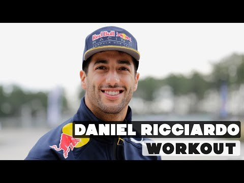 F1 Driver Daniel Ricciardo Off-Season | Hard Workout