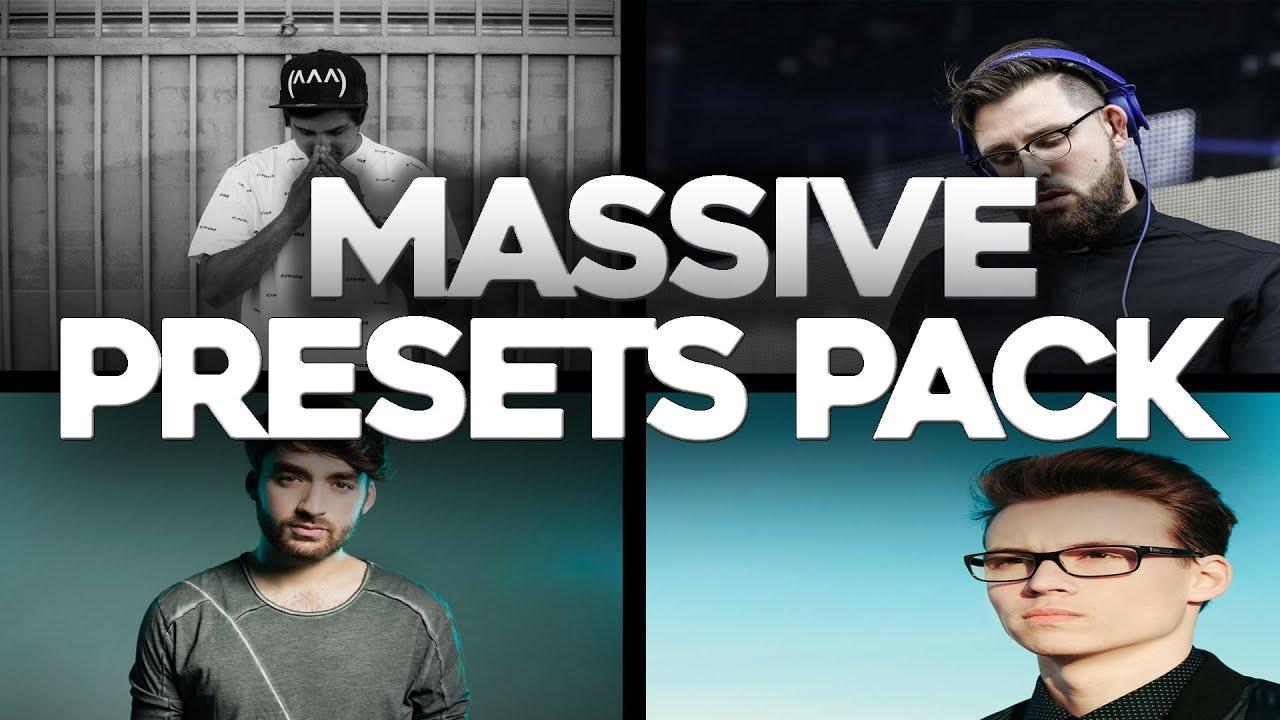 Free Massive Preset Pack (Oliver Heldens, Tchami, Curbi, Jauz & More)