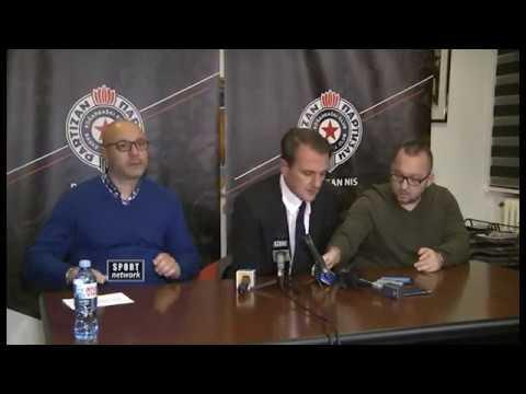 KK Partizan - vanredna konferencija za medije