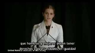 emma watson heforshe discurso subtitulado
