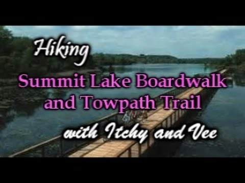 Hiking The Summit Lake Boardwalk And Towpath In Akron Ohio