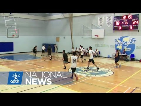 Maori Take on Ermineskin First Nation in Basketball   WIN Games 2017