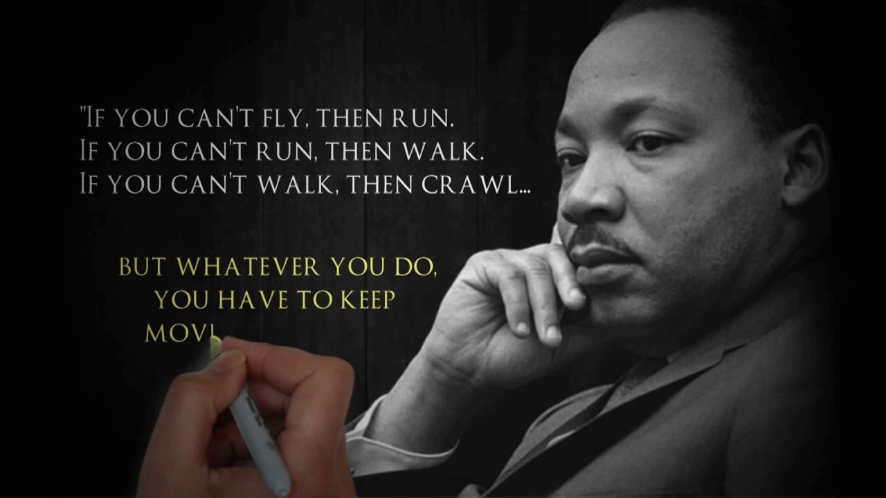 Inspirational Quote From Dr Martin Luther King Jr Youtube