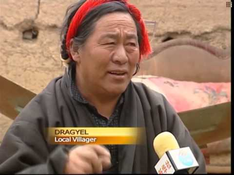 Solar power brightens Tibetan village