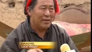 Solar power brightens Tibetan village