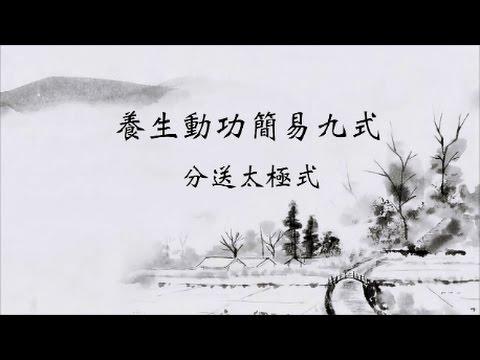 【養生動功簡易九式「分送太極式」】