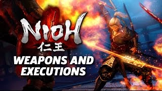 Nioh - Melee Weapons and Executions Gameplay