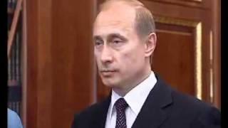 Путин и Кадыров 9 мая 2004 года