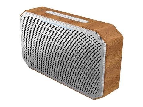 CanSolo M Bluetooth Speaker - Oak UNBOXING  /   mini Review