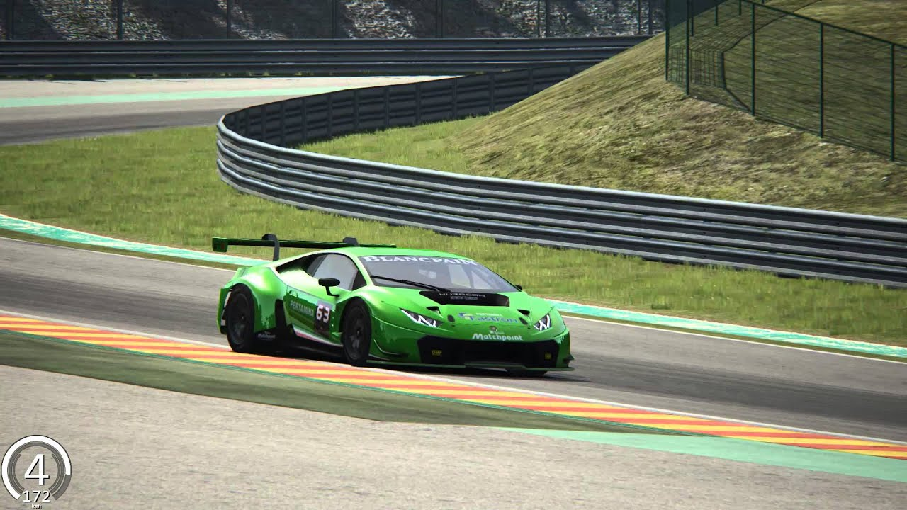 assetto corsa lamborghini huracan gt3 on spa francorchamps youtube. Black Bedroom Furniture Sets. Home Design Ideas