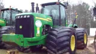 John Deere 9520 Pull tractor