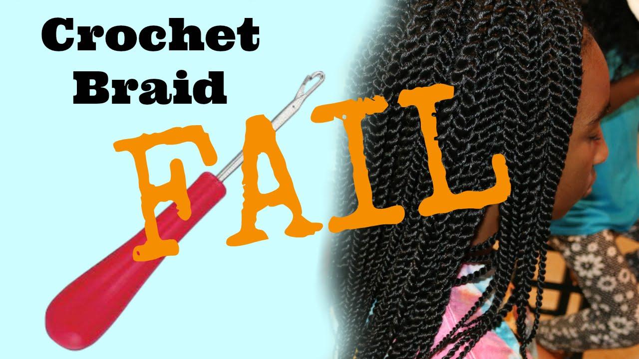 Crochet Braid Fail Finding A Good Braid Pattern For Thick Hair