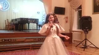 """песня """"Снежинка"""" исполняет Мария Cоловушка.  26.12.2018"""
