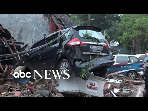 More than 200 people killed as deadly tsunami hits Indonesia