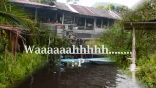 Iban Song - picture of Kg Keranggas Pantu Sarawak