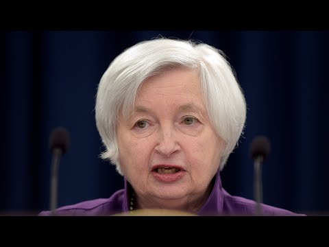 Yellen holds a news conference