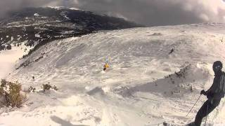 Breckenridge - Skiing Whales Tail to Peak 7 Bowl