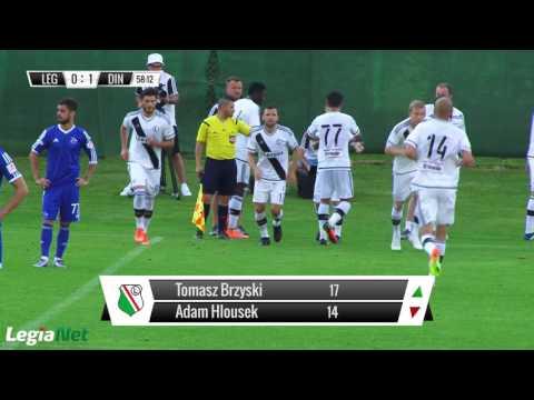 Skrót sparingu Legia Warszawa - Dinamo Tbilisi