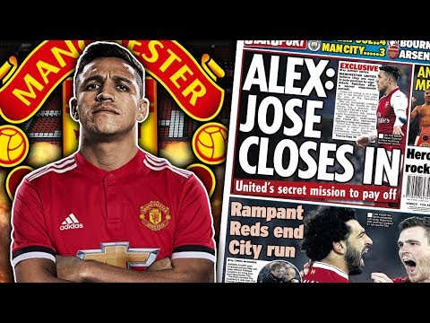 CONFIRMED: Manchester United To Complete £35M Alexis Sanchez