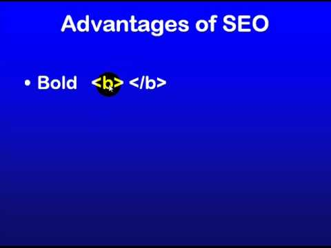SEO Education 101 - Keyword highlighting