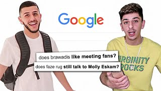FaZe Rug and Brawadis Answer The Web's Most Searched Questions