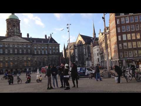 Royal palace of Netherlands Amsterdam (dam square)