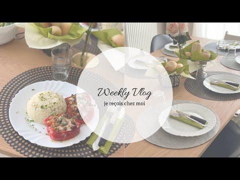 ❥ Weekly Vlog - Je reçois ╳ Retour de courses, cuisine, ménage, astuces & rangement