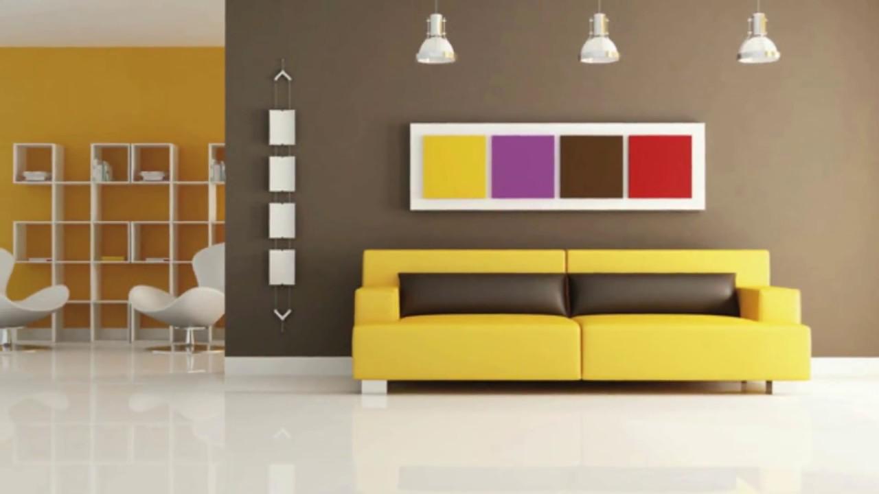 decoration peinture maison interieur - YouTube