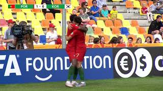 MATCH HIGHLIGHTS - Portugal v Korea Republic - FIFA U-20 World Cup Poland 2019