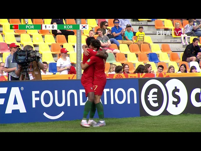 MATCH HIGHLIGHTS - Portugal v Korea Republic - FIFA U-20 World Cup Poland 2019