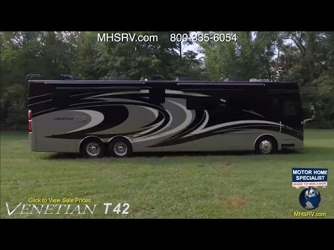 2017 Thor Motor Coach Venetian T42 RV Review Available at MHSRV.com