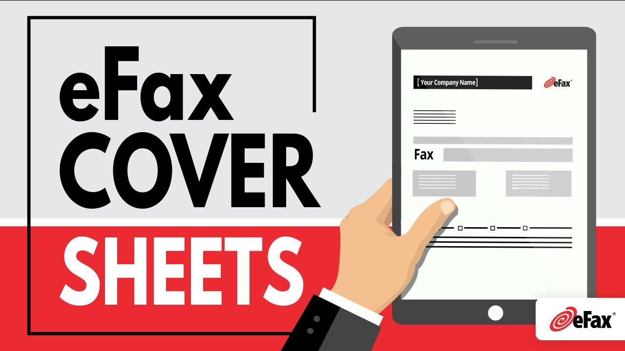 eFax Cover Sheets & Send Templates - YouTube