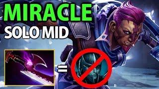 Miracle- Dota2 [Anti Mage] Solo Mid vs Invoker- Silver Edge
