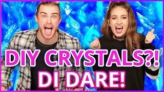 DIY CRYSTALS?! Di Dare w/ Courtney Randall & James Boyd