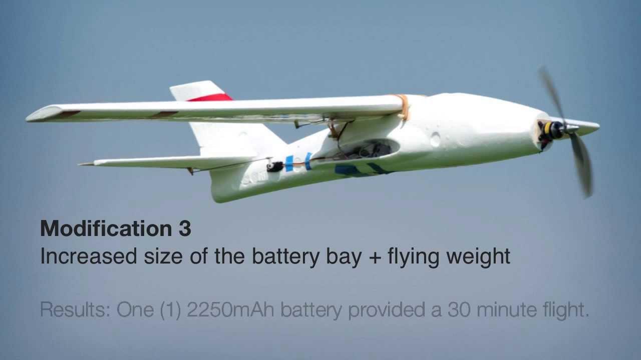 Foam Air Hogs Glider Conversion To Rc