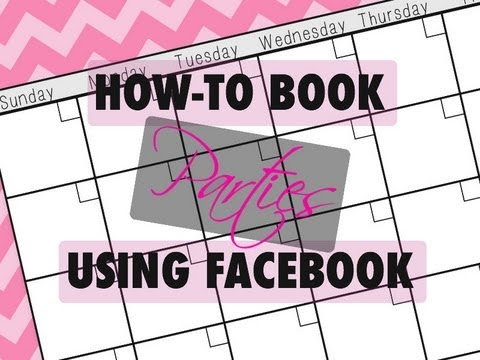 Home Business Facebook Party Booking YouTube