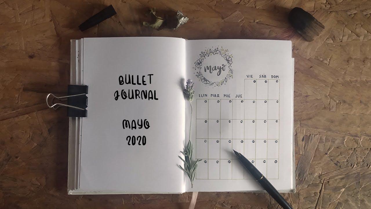 Bullet Journal Mayo 2020 [Planea conmigo] // Bullet Journal Setup May 2020 [Plan with me]