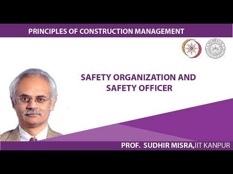 Safety organization and safety officer