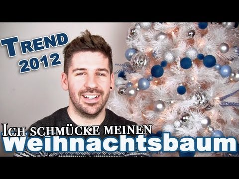 weihnachtsbaum schm cken trend 2012 youtube. Black Bedroom Furniture Sets. Home Design Ideas
