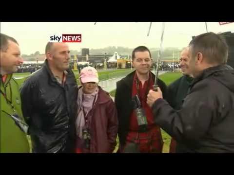Ryder Cup 2010 Sky News Interview Dufftown Golfers
