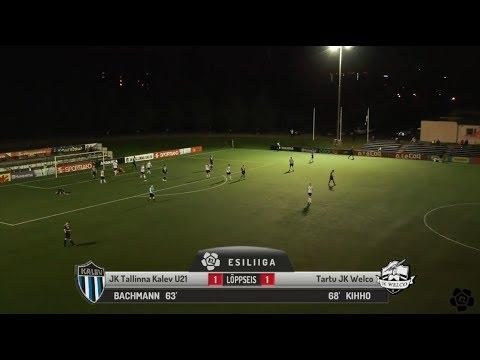 29. voor 2018: JK Tallinna Kalev U21 - Tartu JK Welco 1:1 (0:0)